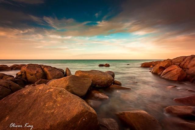 Castle Rock beach. Western Australia