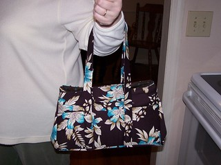 brown and blue purse 012