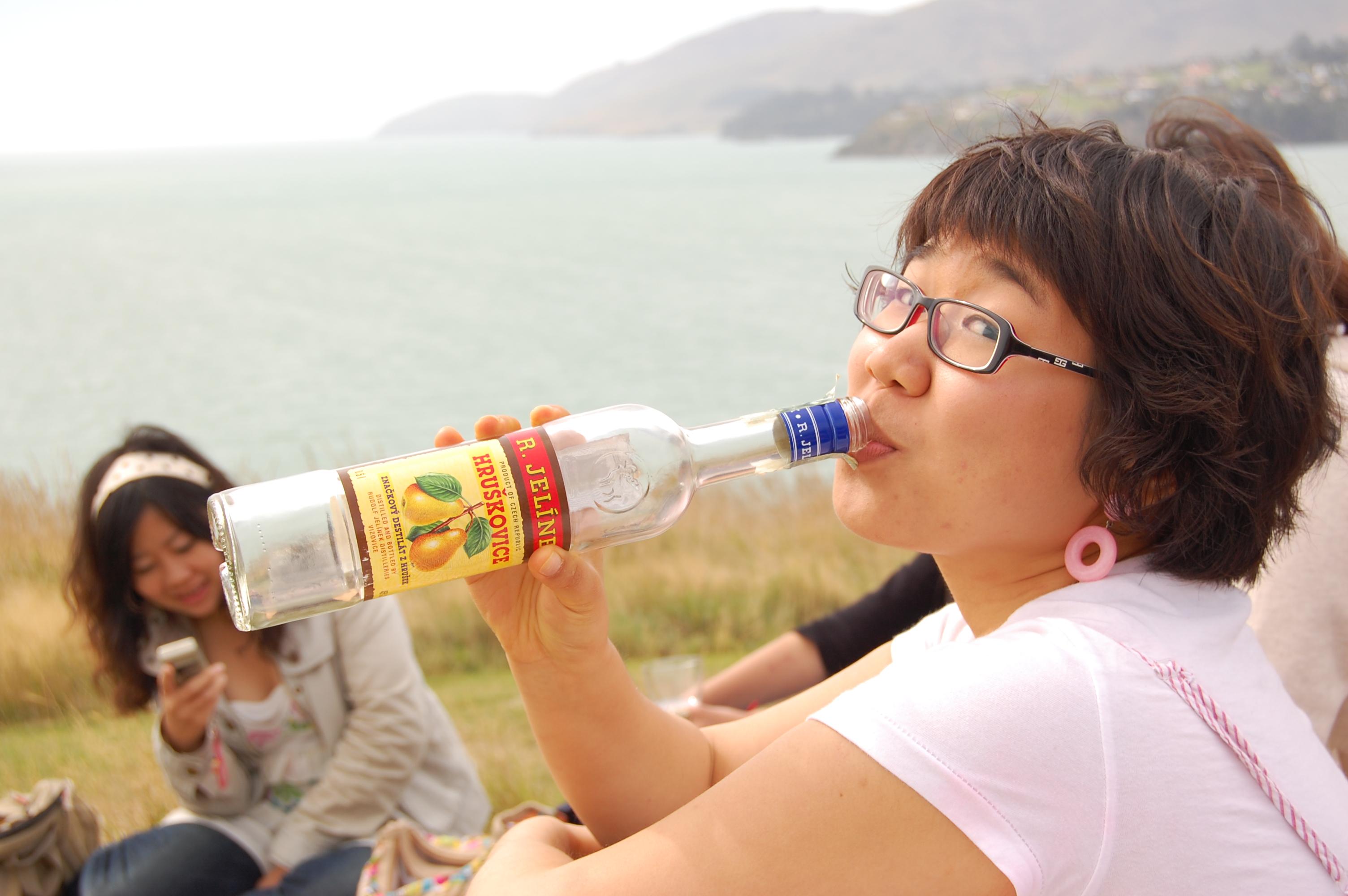 Empty bottle & Joo