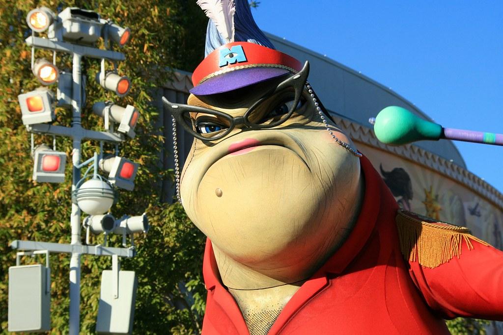 Pixar Play Parade: Monsters Inc , Roz | Carlos | Flickr