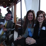Andrew McDonald, Dr. Andrea Hayes & Charlotte Kohny enjoying themselves at NAS Reception in Nashville