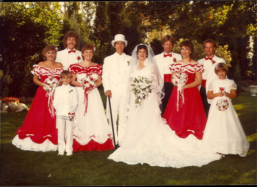 Bad Wedding Photos.More Bad Wedding Pictures Circa 1984 Diane S Photos Videos