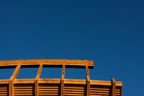 blue wedding light sunset sky sun lines architecture digital upload canon austin concrete eos university texas afternoon stadium details cement structure architectural universityoftexas iphoto upperdeck drk royalmemorialstadium ef2470mmf28l 40d stockcategories xgv08