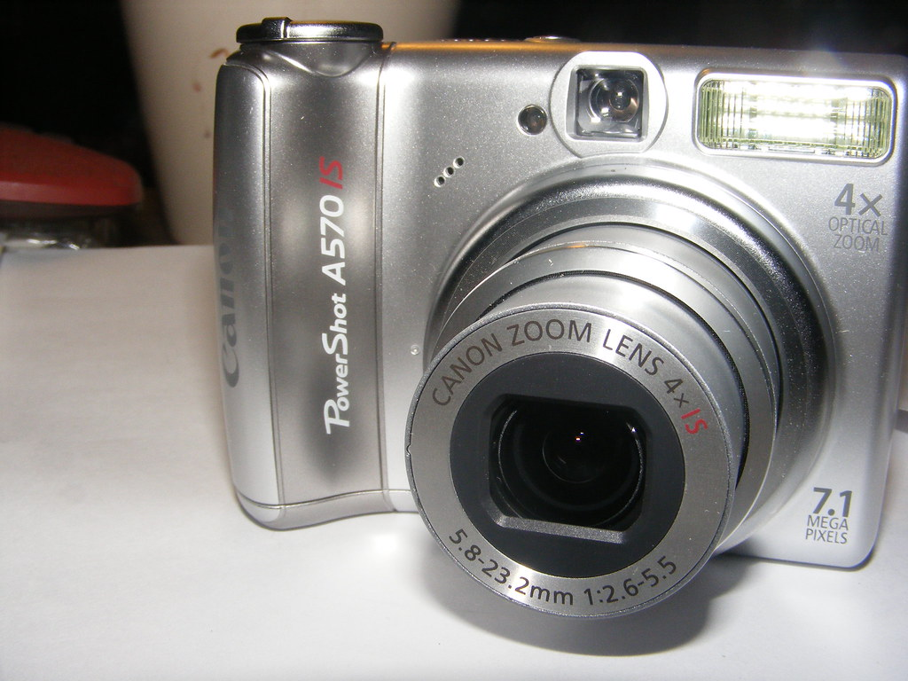 CANON POWERSHOT A SERIES A570 IS — Download drivers