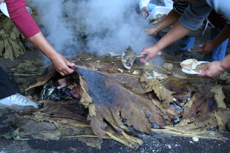 Chiloé - Mechuque - Curanto en hoyo