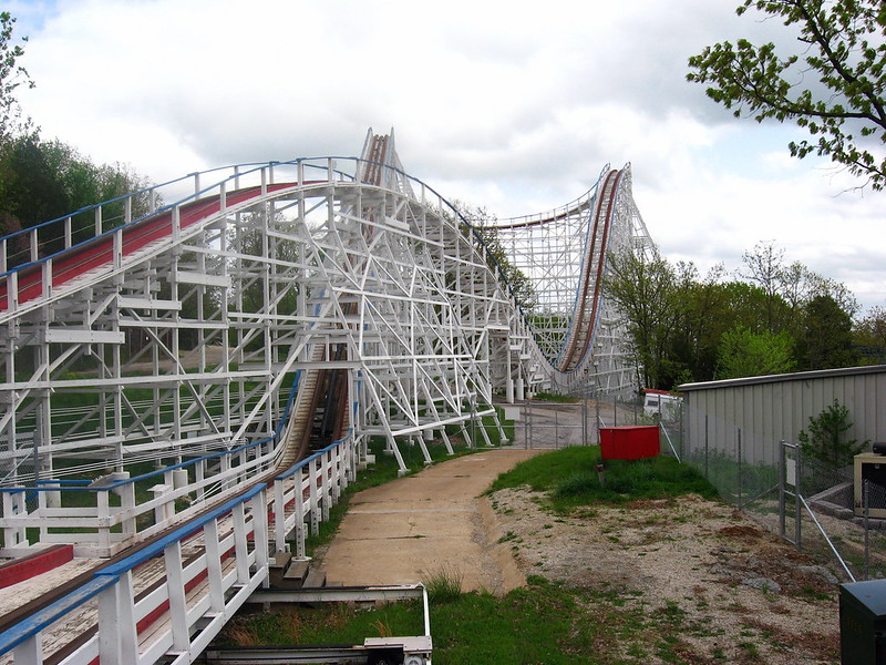 Screamin' Eagle at Six Flags St. Louis