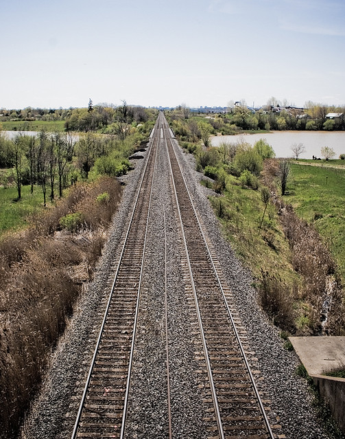 Train Tracks | A very active train track  I didn't dare go n