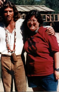 Joe Lando   Joe Lando and me on the Dr  Quinn Medicine Woman…   Flickr