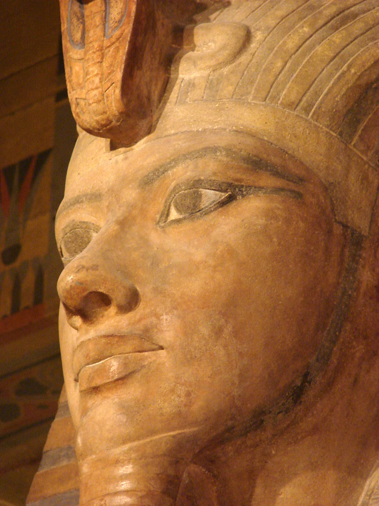 Colossal Statue Of Tutankhamun The Face Of King Tut The