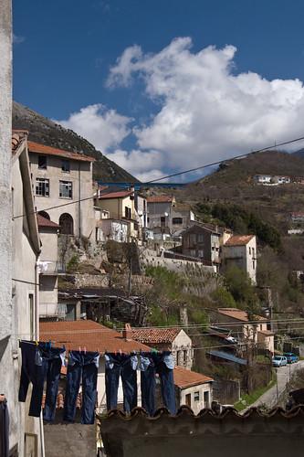 italy view jeans paese meridione lagoegro