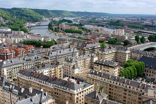 Vue de Rouen | by zigazou76