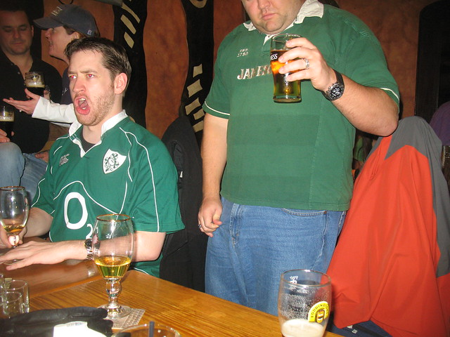 Fado DC Six Nations - Not sure what Adam is doing