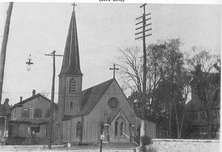 Original building, St. Mary's Episcopal Cathedral
