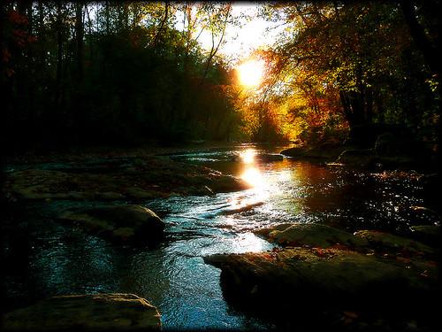 autumn sunset geotagged october eveningsun utata blueridge warmlight warrenwilsoncollege westernnorthcarolina coolwater riversidetrail lateafternoonwalk swanannoariver beginningsoffallcolor nearswanannoanc