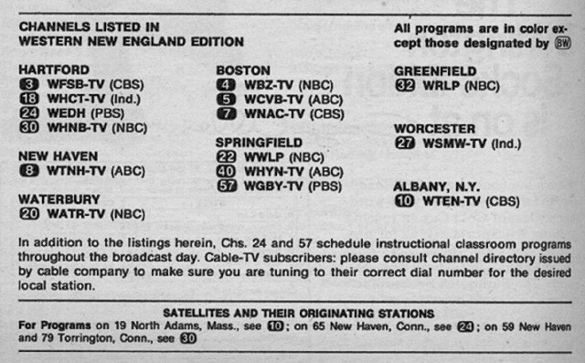 Western New England Edition (November 29, 1975) | From my TV… | Flickr