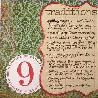 Journal Your Christmas 2007 #9: Traditions | by Wendy Copley