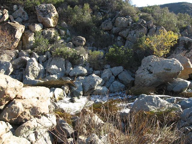 Waterfall at Los Penasquitos Canyon