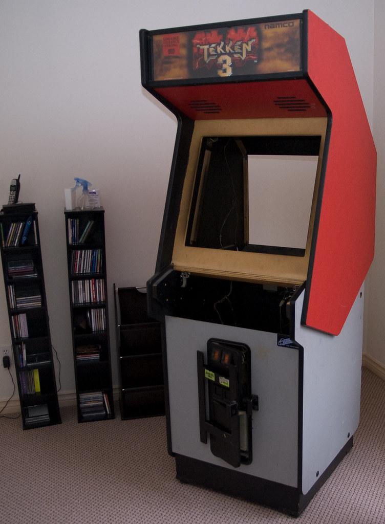 Tekken 3 Dynamo Cabinet This Was Pretty Much The Original Flickr