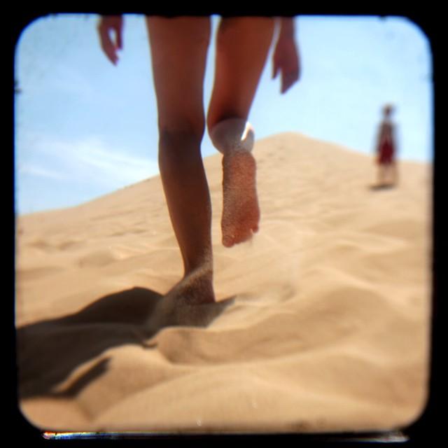 dune climb legs