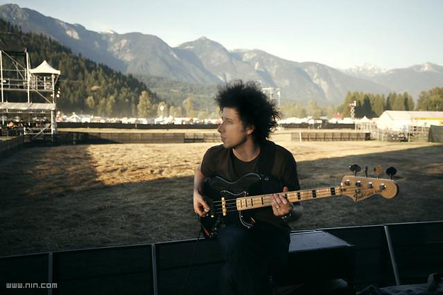 Nine Inch Nails Soundcheck - Pemberton, BC, 7.24.08