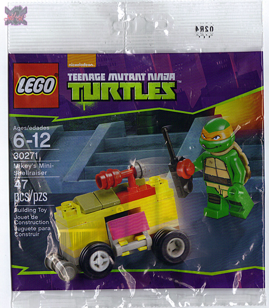 "LEGO TEENAGE MUTANT NINJA TURTLES :: ""Mikey's Mini-Shellraiser"", ..bag i  (( 2014 )) by tOkKa"