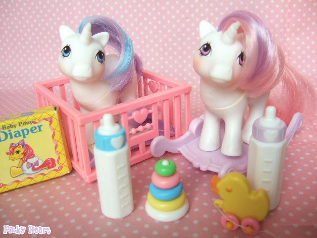 G1 My Little Pony Babies Baby Glory And Baby Moondancer Flickr