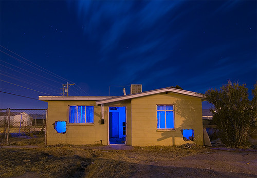 abandoned night texas el neighborhood paso