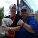 Jason after Marathon with Sammy