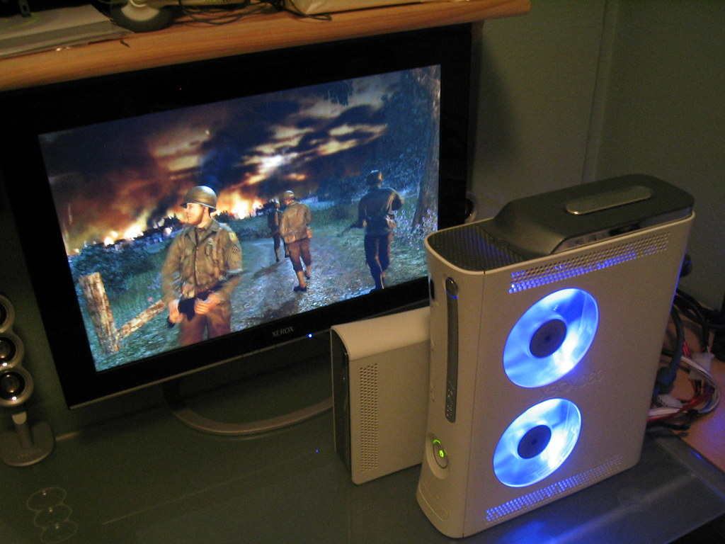 how to mod a xbox 360