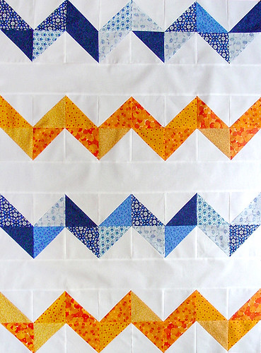 Zig-Zag Quilt Top | by J. Conlon and Sons