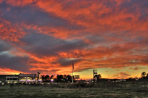 sunset wallpaper west la monroe hdr