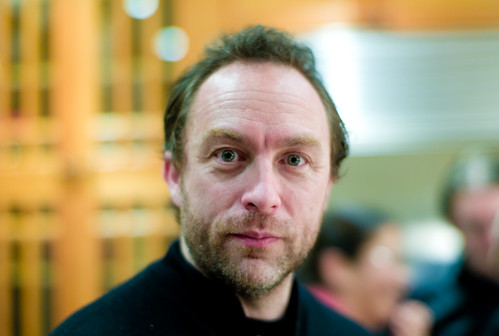 Jimmy Wales   by Joi