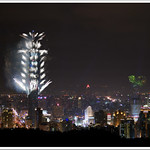 Taipei 101 fireworks at New Year 2008