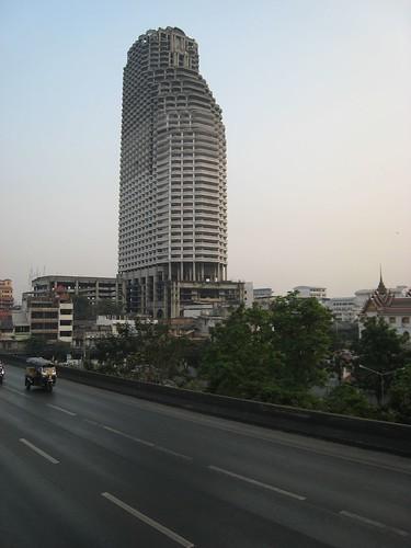 Abandoned Luxury Block in Bangkok   by IMP1