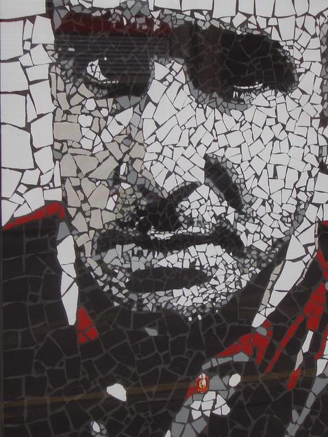 Eric Cantona mosaic by Mark Kennedy