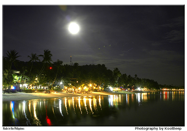 Moon and Boracay