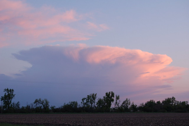May 15, 2008 - Lone Thunderstorm Cell!