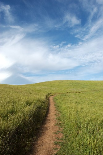 california sky grass clouds path trail bayarea april paloalto siliconvalley southbay arastradero arastraderopreserve