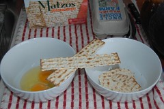 crack the eggs and break the matzah | by abmatic