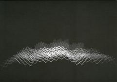 croxcard 54 wouter decorte (2007) PLOOIBAAR LANDSCHAP<br /> aluminium 70/450x48/312cm