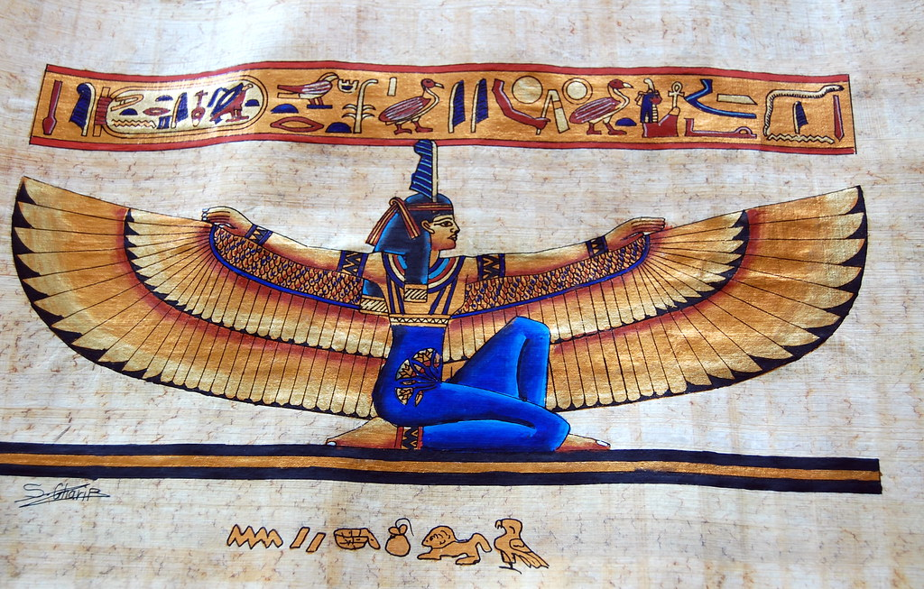 Goddess Maat | Catriona brought this back from Egypt for me