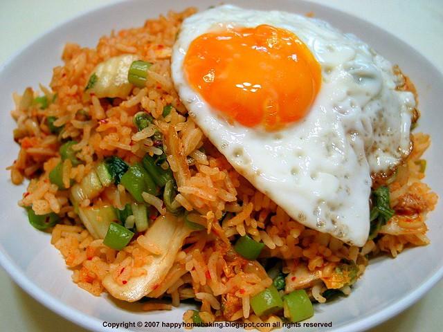Kimchi Bokkumbap