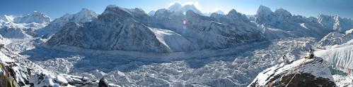 nepal trek solukhumbu pan panorama sunrise gokyo ri ngozumba glacier everest nuptse 8000er himalaya geotagged geo:lat=2798132867651713 geo:lon=8682876772143858 sagarmatha everestregion