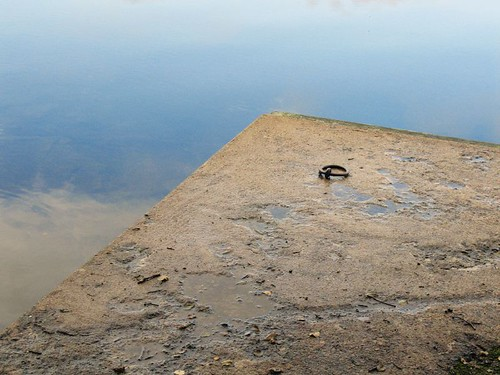blue sky lake reflection geotagged concrete sweden schweden sverige bengtsfors Ärtingen geo:lat=59030089 geo:lon=1217577