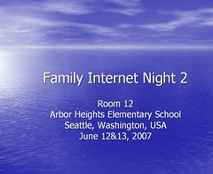 Family Internet Night 2 | by mahlness