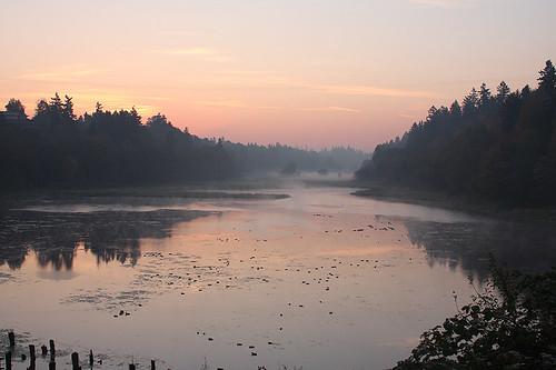 morning fog vancouver sunrise washington duane experiencewa