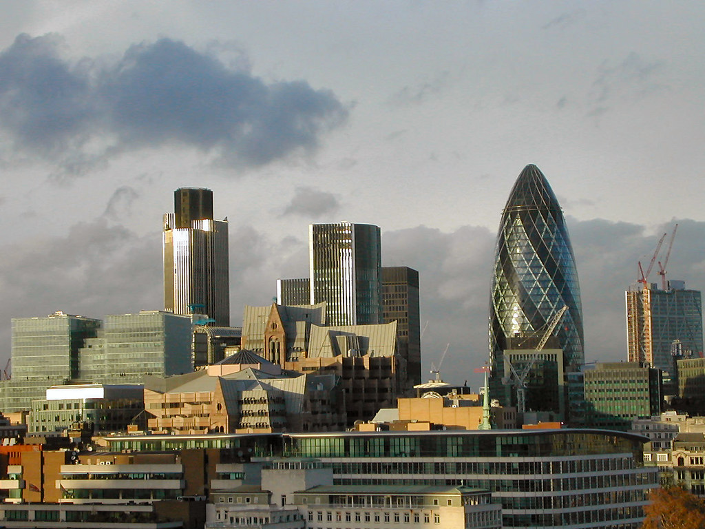 London skyline | From the city hall | Lorenzo G | Flickr
