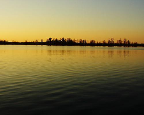 sunset lake endoftheday