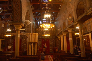 Interior of the Hanging Church (الكنيسة المعلقة), Cairo | by twiga_swala