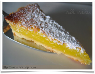 Lemon curd bars/ tart | by van_pham